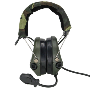 Image 2 - Tactical Electronic Earmuffs Pickup noise reduction Sordin Headphones Airsoft Military Tactical Softair Walkie Talkie Headse FG