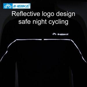 Image 4 - INBIKE inverno uomo abbigliamento da ciclismo abbigliamento da bici caldo termico antivento cappotto da equitazione MTB abbigliamento da bici da strada giacca sportiva allaperto