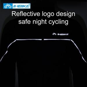 Image 4 - Inbike冬の男性服防風熱暖かい自転車アパレルコートmtbロードバイク服屋外スポーツジャケット