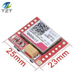 Маленький SIM800L GPRS GSM модуль карта MicroSIM Core Беспроводной доска quad-диапазона TTL серийный Порты и разъёмы с антенной для Arduino