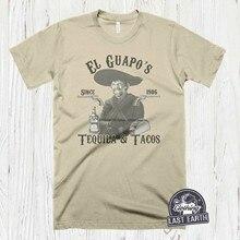 Três amigos el guapo camiseta camisas de filme vintage engraçado tshirts tequilia presente