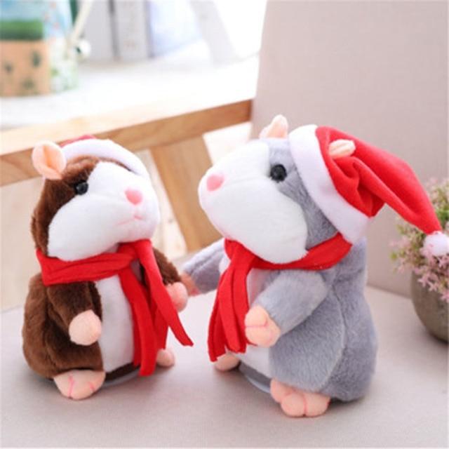 Купить детский говорящий хомяк мышь питомец рождественская игрушка картинки
