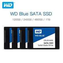 Western Digital Disque dur interne SSD, avec capacité de 250 go, 500 go, 2.5 go, 1 to, 2 to SATA, 6 Gbit/s, 3D NAND WD S500G2B0A, pouces