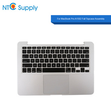 NTC Supply Full Topcase Assembly For MacBook Pro 13.3 inch A1502 Topcase+Keyboard+Touchpad+Battery 2013-2015 Year