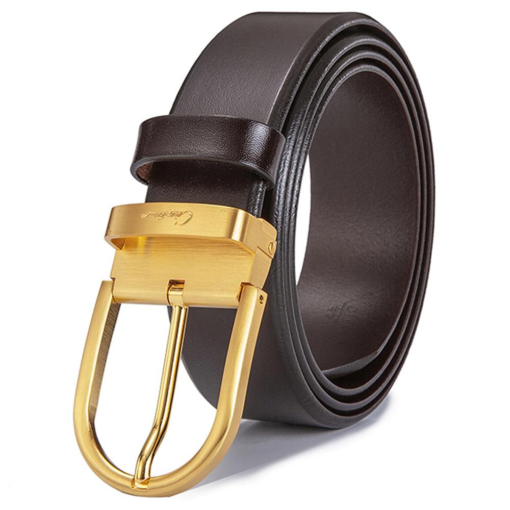 60/%OFF TODAY Luxury Designer Belts Men High Quality Genuine Leather Strap