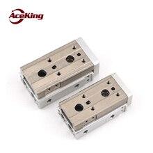 Slide guide rail cylinder MDX16 x10/20/25/20/30/50/75/100 - SD2 ABM 2 MDX16-10 MDX16-20 MDX16-30 MDX16-40 MDX16-50 MDX16-75