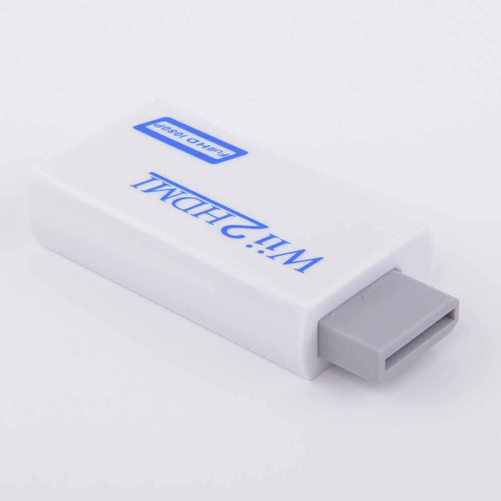 Для wii к HDMI конвертер Поддержка FullHD 720P 1080P 3,5 мм аудио wii 2HDMI адаптер для HDTV wii конвертер дропшиппинг