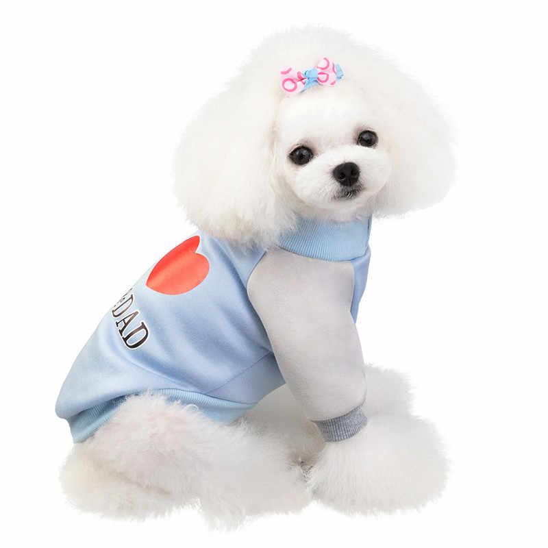 새 애완 동물 강아지 귀여운 스웨터 가을과 겨울 패션 따뜻한 고양이 개 의류 애완 동물 강아지 스웨터 가을과 겨울 개 후드 @ 5 유지
