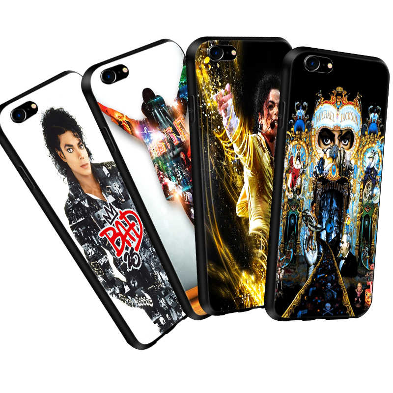 Coque מייקל ג 'קסון MJ מקרה עבור iPhone 11 פרו Max XR XS 5S 6 6S 7 8 בתוספת מקרה רך TPU טלפון כיסוי עבור Huawei Mate20 P20 לייט