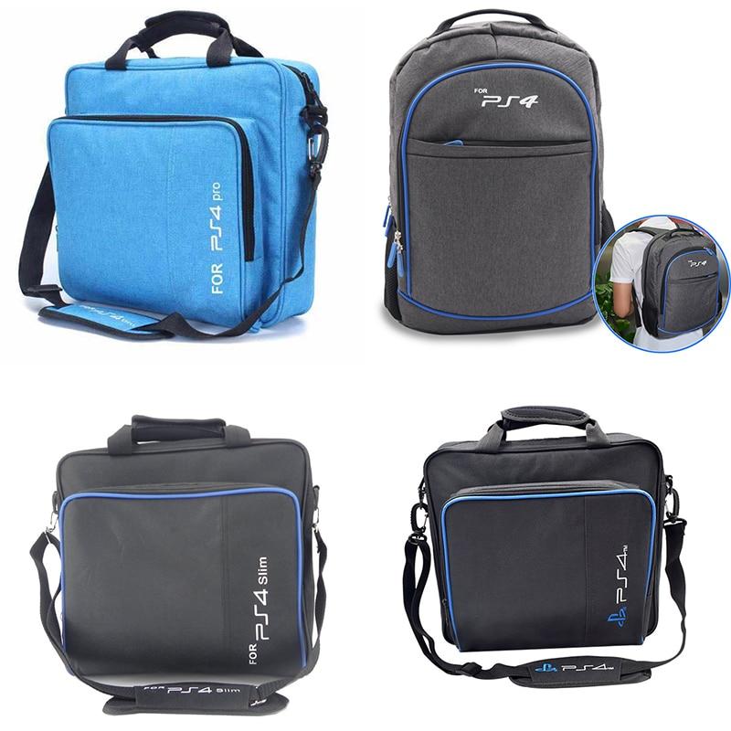 New Bag Multi-function Bag For PS4 / PS4 PRO Slim Original Size Protective Shoulder Bag Cloth Bag For Playstation 4 Consol
