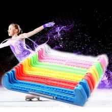 1 пара фигурных коньков бахилы нож для колки льда лезвие протектор рукав нейлон ПВХ морозостойкий Регулируемый Анти-скольжение 5 цветов