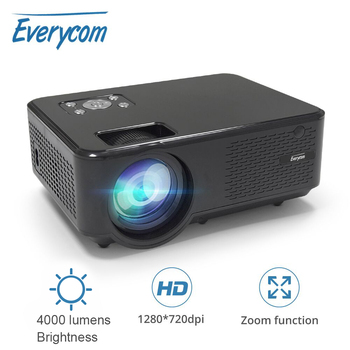 Everycom M8 LED Video Mini Projector HD 720P Portable HDMI Option Android Wifi Beamer Support FHD 1080P Home Theater Cinema