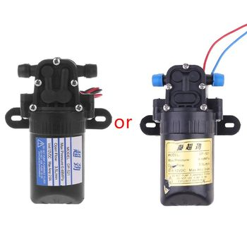 DC 12V 3.5L/M 0.48MPa High Pressure Micro Diaphragm Self Priming Diaphragm Water Pump For Boat Garden 0 2 2 l m 8 120kpa pressure electric diaphragm dc brush micro vacuum pump 3v 6v 9v 12v