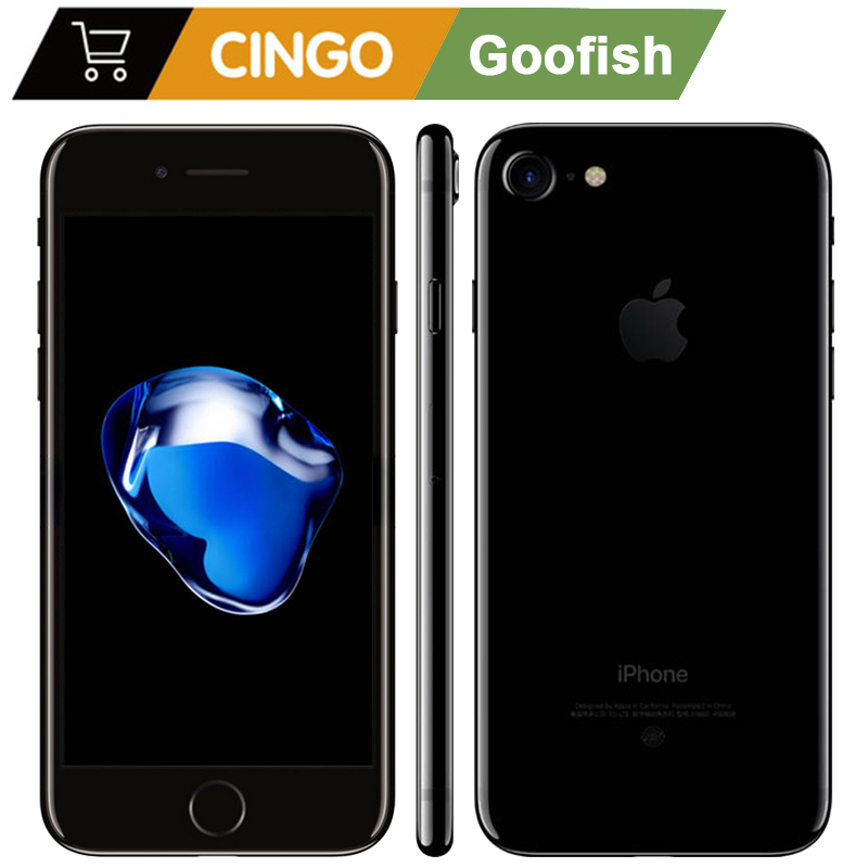 """unlocked original used Apple iPhone 7 2GB RAM 32/128 / 256GB ROM 4.7"""" 99 new  12.0MP camera quad core 4K video LTE-in Cellphones from Cellphones & Telecommunications"""