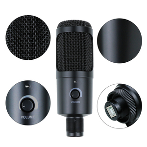 Image 3 - USB Condenser Microphone for Computer Karaoke Studio Microphone for bm 800 YouTube Gaming Recording mic with Stand Shock Mount