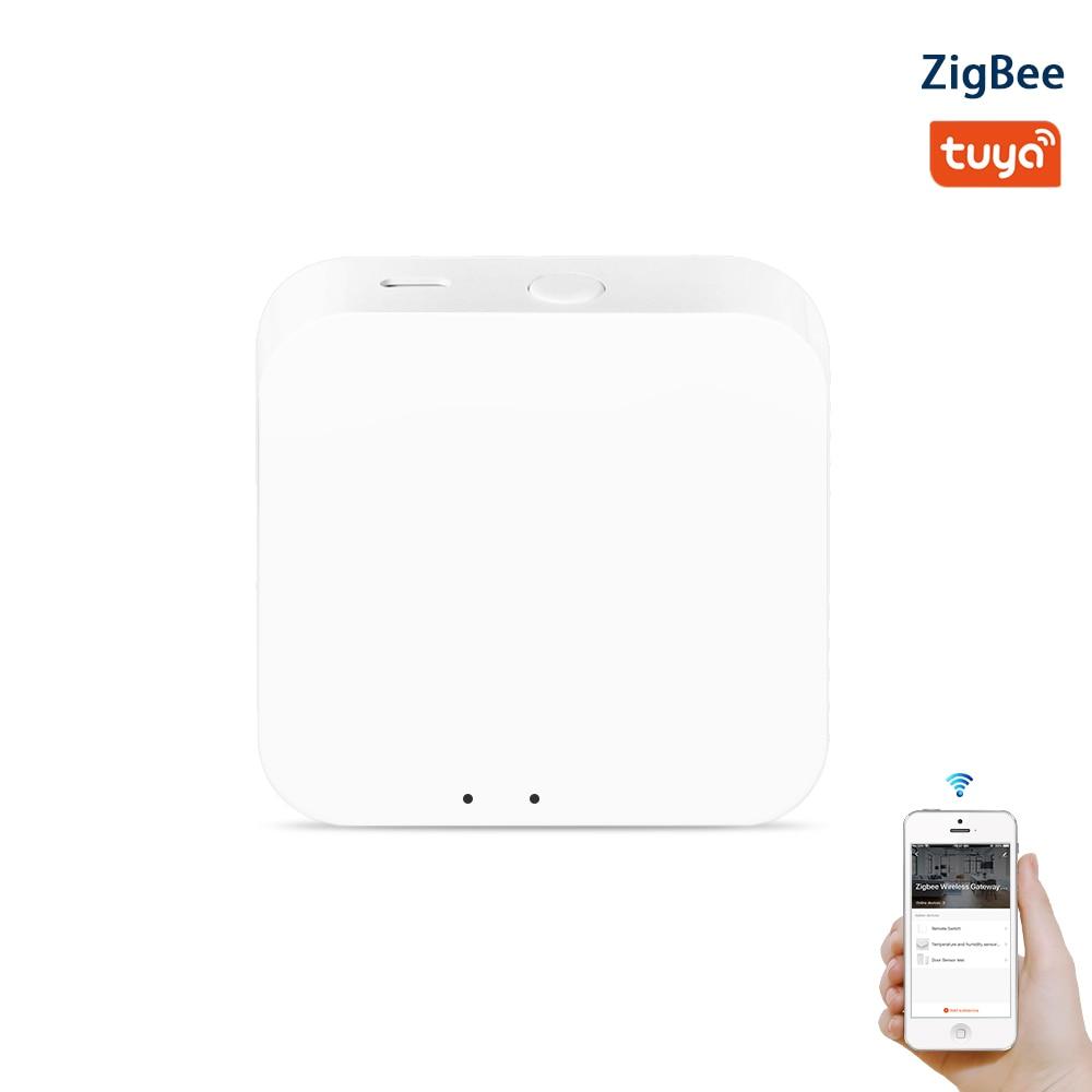 Tuya zigbee 3.0 hub gaterway wifi casa inteligente ponte controle remoto sem fio