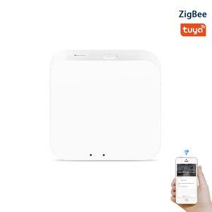 Image 1 - Tuya Zigbee 3.0 Hub Gaterway Wifi inteligentny dom most bezprzewodowy pilot zdalnego sterowania