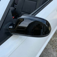 Mirror-Caps A5 B8.5 RS5 Audi Wing Ce for A4 A3 8P Black-Side Replace RS4 Glossy-Pearl