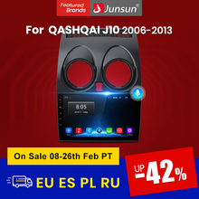 Stereo-Player Gps Navigation Car-Radio Junsun Bluetooth Auto Nissan Qashqai Android-10