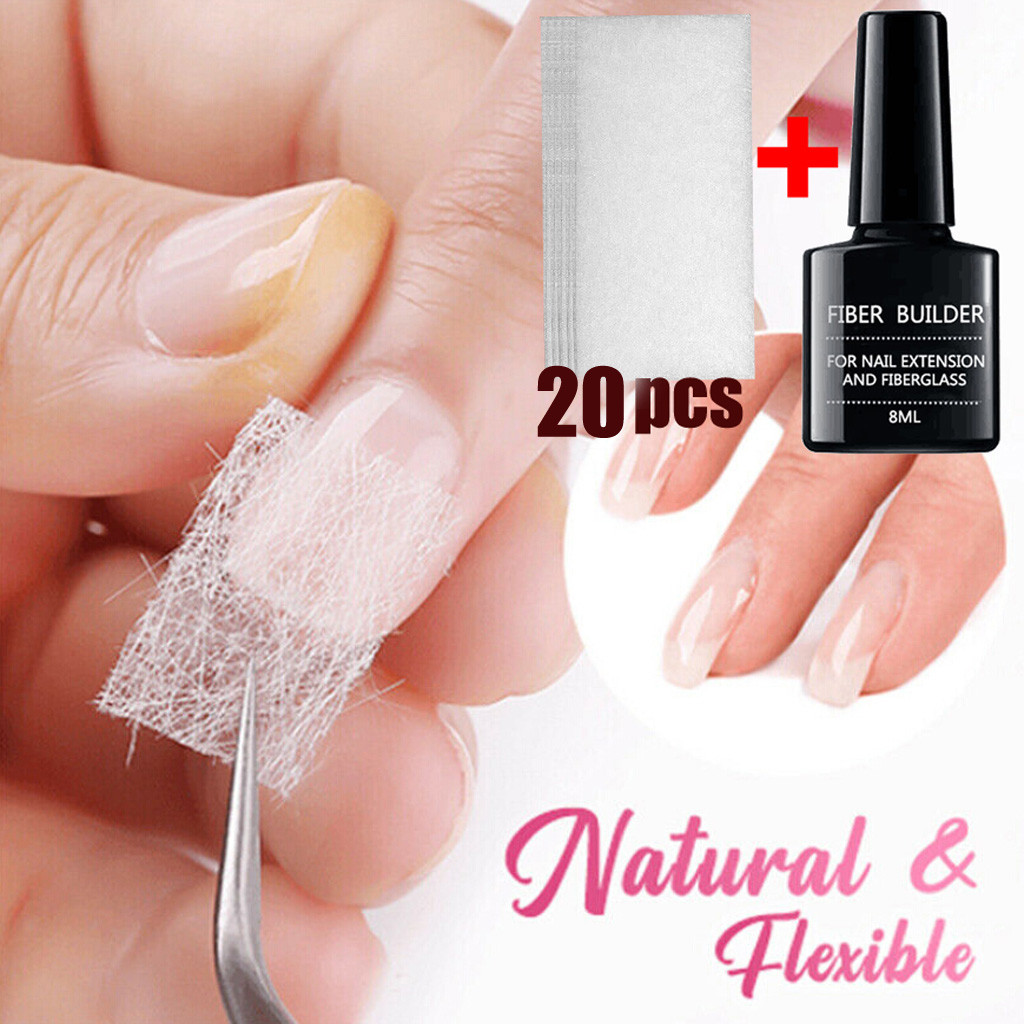 Nail Care Fiberglass Silk Nails Wrap Stickers For Gel Extension Nail Art Tools All For Manicure Nail Art Vernis Semi Permanant