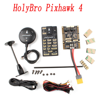 Контроллер полета автопилота HolyBro Pixhawk 4 Pixhawk4 и GPS-модуль M8N Combo для радиоуправляемого дрона