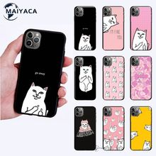 Big Promotions Tpu Funny Cats Mobile Phone Case For Iphone 11 12 Mini Pro Max Cover For 7 8 Plus X Xs Max Xr