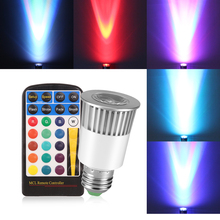 Spotlight Stage-Lamp E27 5W Rgb AC Holiday for Home Party Christmas-Decoration with Ir