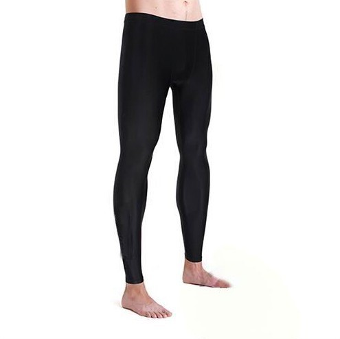 New Style Solid Black Diving Trousers Sun-resistant Swimming Trunks Men's Anti-Scratch Waterproof Mother Men Long Swimming Trunk
