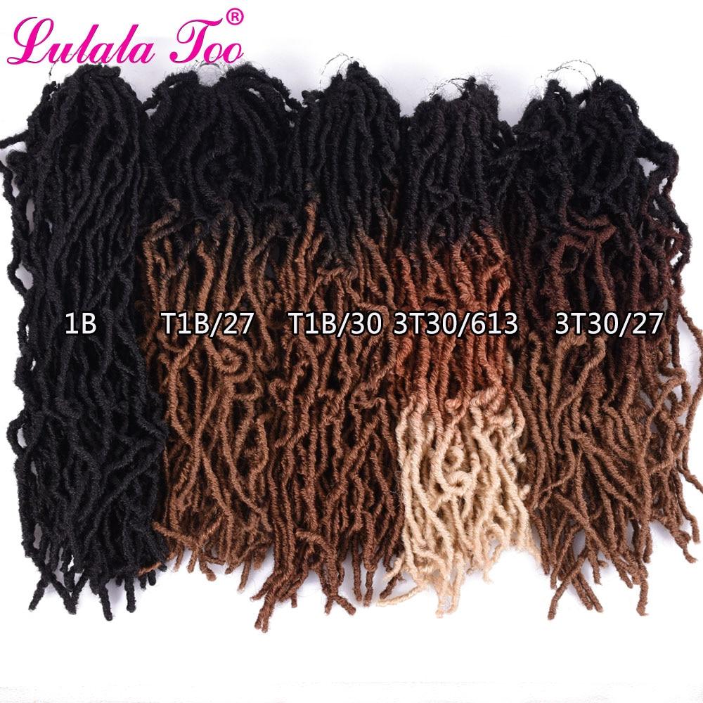 ÊPromoteCrochet-Hair Bobbi Boss Braiding-Hair Faux-Locs Synthetic Black-Women 20-Strands/Pack€