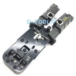 Multifunktionale netzwerk crimpen zange RJ45 LAN Kabel Crimper Zange stripper Kabel Tester 6 P/8 P Draht Cutter Werkzeug test werkzeuge