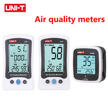 High Quality UNI-T A25M/D/F Air Quality Monitor PM2.5 Gas Analyzer Formaldehyde Detector Tester Temperature Humidity Meter Gas
