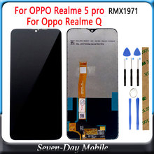 LCD for OPPO Realme 5 pro RMX1971 LCD display touch panel screen digiziter sensor assembly lcds For Oppo Realme Q LCD Display 5pcs lot lcd display touch panel for mann zug 5 zug5 zug5s 100