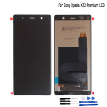 Original For Sony Xperia XZ2 Premium Dual H8166 LCD Display Touch Screen Digitizer replacement parts For Sony XZ2 P Screen LCD screen for sony xperia z3 compact lcd touch display d5803 d5833 digitizer frame for sony z3 mini screen replacement adhesive