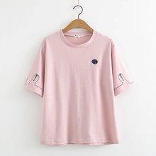 2018 Summer Casual T Shirt Women Ladies Short Sleeve Female