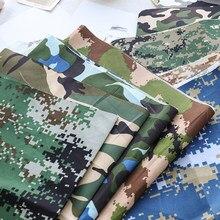 Tissu en Polyester 210T pour homme, 45x150cm, tissu Camouflage pour couture de pantalons TJ1305