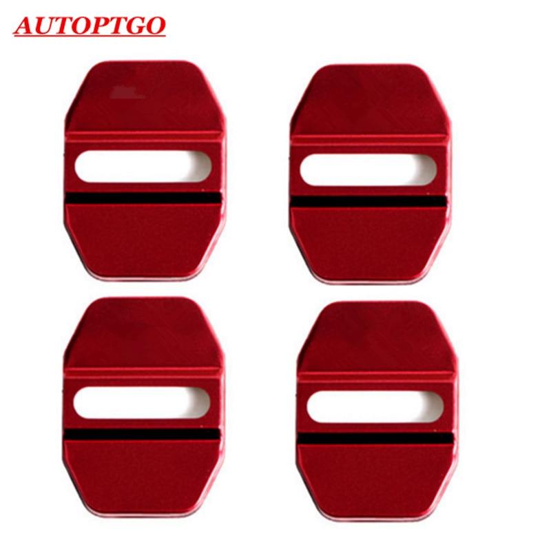 4Pcs Stainless Steel DoorLock Door Lock Protective Cover Cap W/3M Fits Infiniti Q50L QX50 QX30 QX60 ESQ
