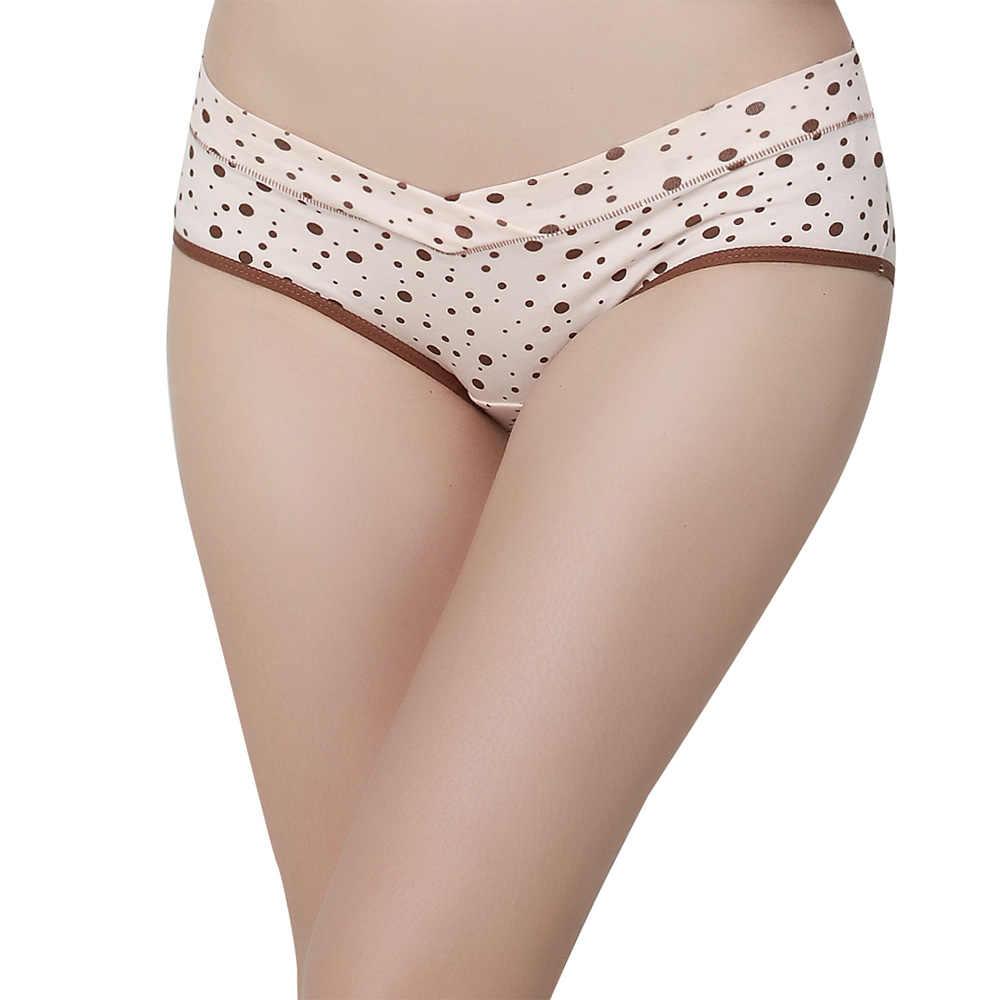 Cuecas para grávidas roupa interior para mulheres grávidas roupa interior de algodão baixa cintura briefs intimate calcinha