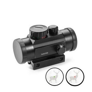 Firearms Tactical 1x40 Red And Green Cross Dot Sights Scope For 11/20MM Track Optical Lens Holographic Red Sight Tactical Sight