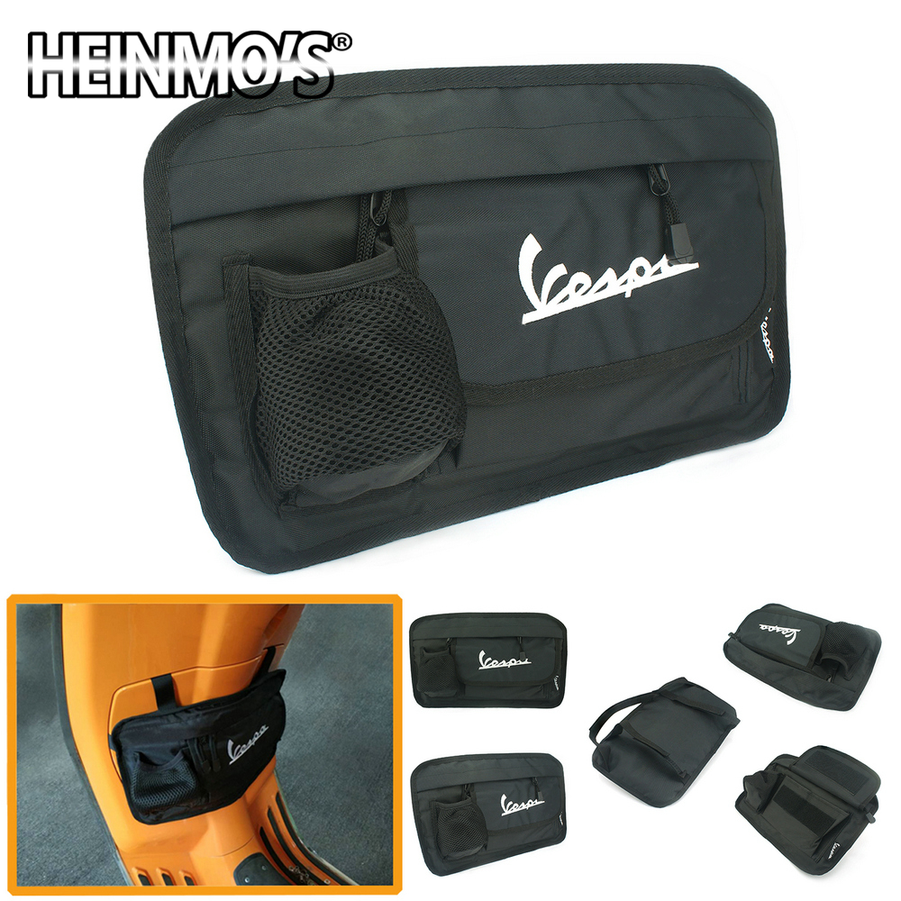 Motorcycle Accessories For Piaggio Vespa 150 125 200 Waterproof Glove Bags Storage Bag For Vespa Scooter GTS LX  LXV LIVE Sprint