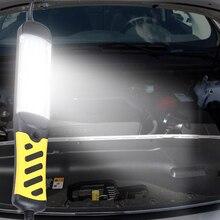 Ручной Светильник для технического обслуживания, Автомобильный светодиодный аварийный светильник, работающий на вспышке, светодиодный светильник, крепкий Магнитный китайский штекер, рабочая лампа с проводами