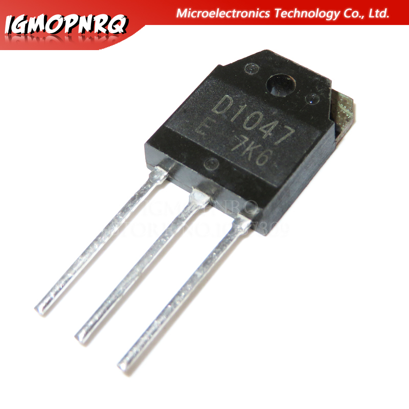5pcs 2SD1047 D1047 TO-3P TRANSISTORS New Original