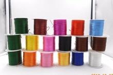 Цветной эластичный Канатный шнур 10 м/рулон, Хрустальная веревка для изготовления ювелирных изделий, бисерная проволока для браслетов, рыбо...