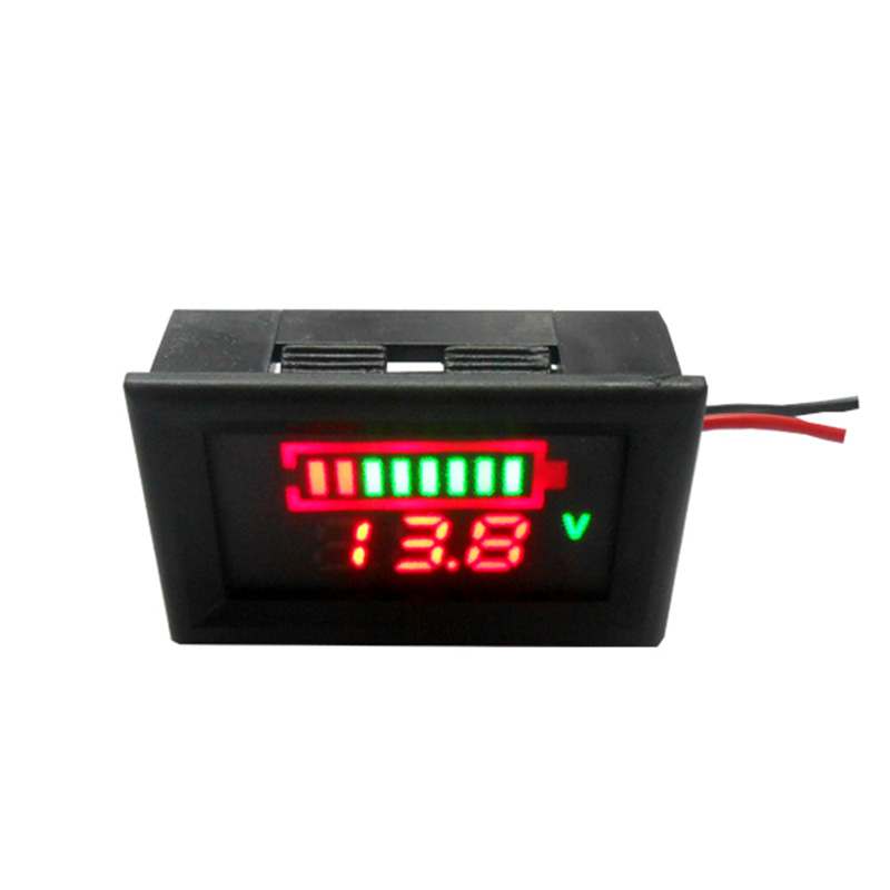 <font><b>3S</b></font> 7S 8S 18650 Lithium <font><b>Battery</b></font> Tester Red Blue Capacity <font><b>Indicator</b></font> Voltmeter LED Digital Display Li-ion Power Charger Level Meter image