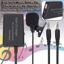 Adaptateur AUX pour Interface de voiture, Bluetooth, musique, stéréo, mains libres, pour Honda, Accord, Civic