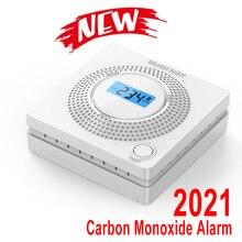 2021 Latest CO Gas Sensor Alarm Accessory LCD Digital Screen Carbon Monoxide Alarm Detector for Home Security Automatic Alarm