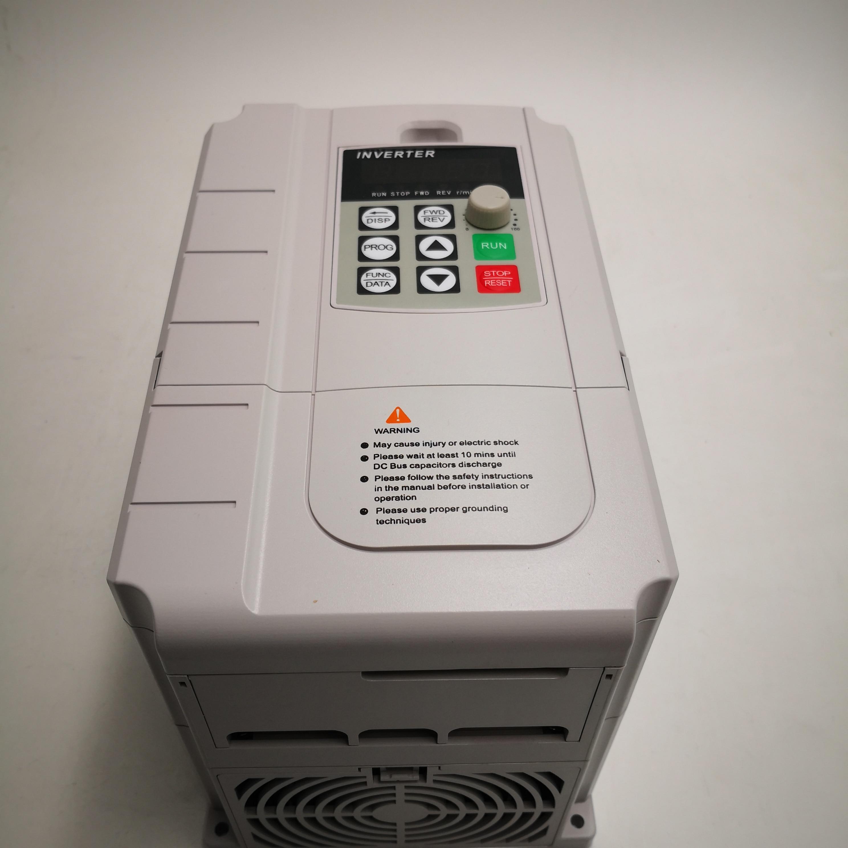 CoolClassic VFD Inverter 4KW 220V in und 380V out einphasig 220V haushalt elektrische eingang und Echt drei-phase 380V ausgang