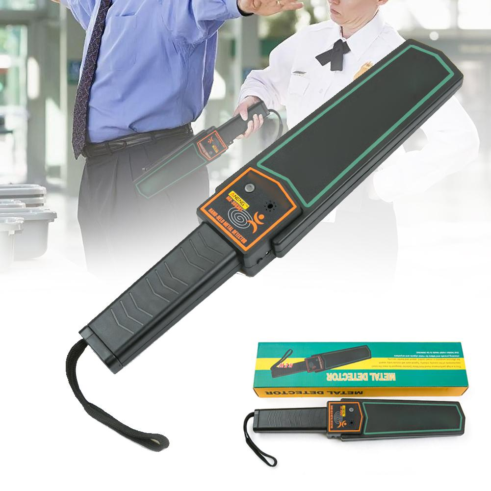Portable Handheld Security Metal Detector High Sensitivity Metal Scanner Finder Electronic Measuring Body Search Tools