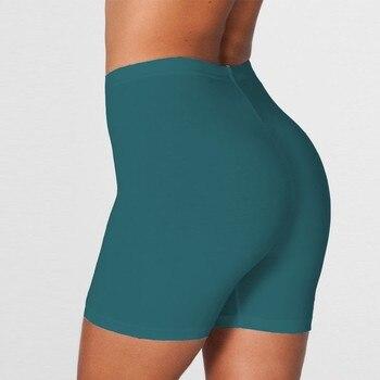 Summer vintage high waist shorts women sexy biker shorts short feminino cotton neon green black shorts sweatpants 6