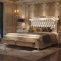 Деревянная кровать из твердой древесины  деревянная мебель для спальни bng002