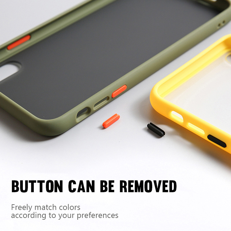 Transparent Matte Silicone Skin Shockproof Phone Case For Oneplus 7T 7 Pro 6T 6 Cover 4